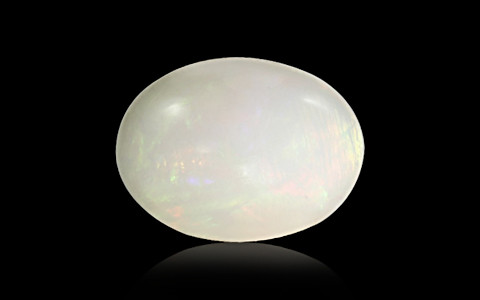 White Opal With Fire - 7.35 carats