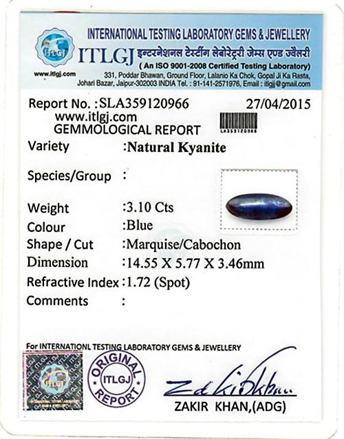Kyanite - 3.10 carats