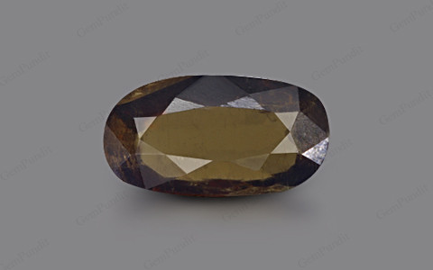 Dark Yellowish Green Tourmaline - 2.92 carats