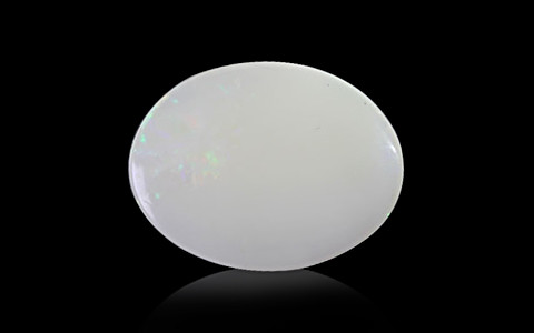 White Opal with Double Sided Fire - 3.18 carats