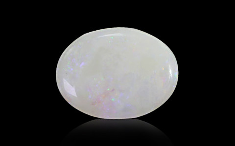 White Opal with Double Sided Fire - 4.51 carats