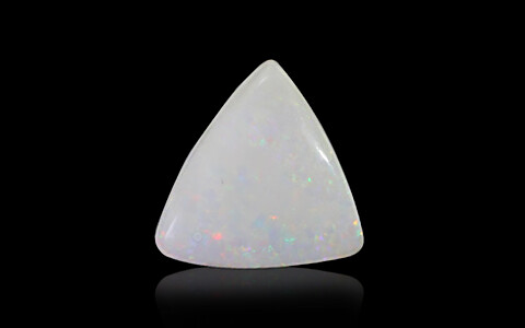 White Opal with Double Sided Fire - 3.63 carats