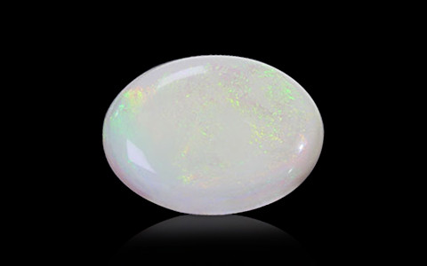 White Opal With Fire - 13.53 carats