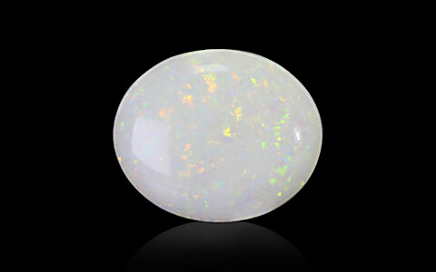 White Opal With Fire - 3.90 carats