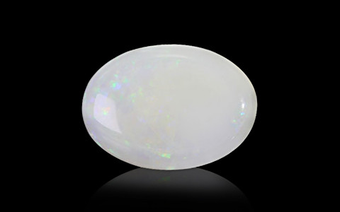 White Opal With Fire - 5.24 carats