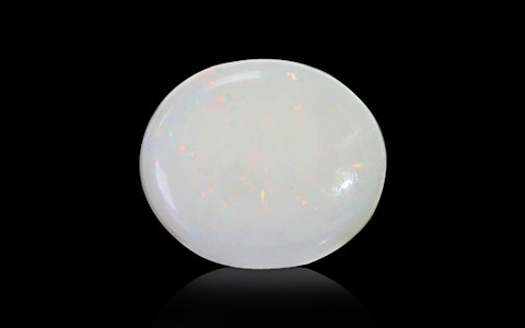 White Opal With Fire - 4.44 carats
