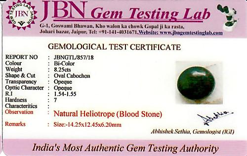 Bloodstone - 8.25 carats