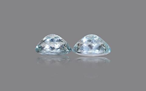 Aquamarine (Pair)- 27.06 carats