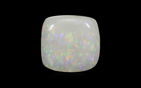 White Opal with Double Sided Fire - 3.39 carats