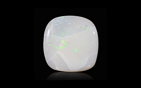 White Opal with Fire - 2.65 carats
