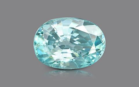 Blue Zircon - 5.43 carats