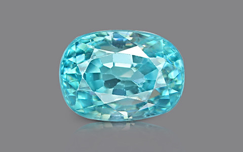 Blue Zircon - 5.05 carats