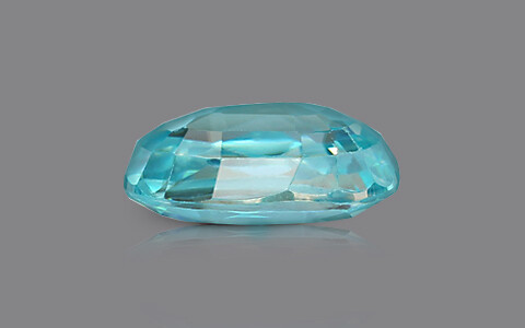 Blue Zircon - 5.85 carats