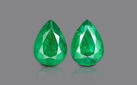 Emerald Pair - 10.35 carats