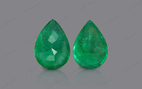 Emerald Pair - 13.42 carats