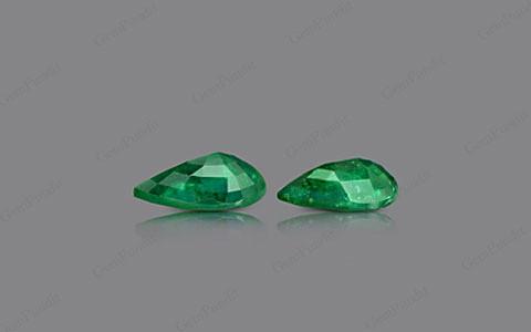 Emerald Pair - 14.01 carats