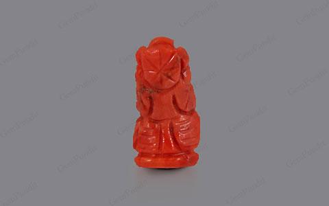 Red Coral Ganesha  - 5.25 carats