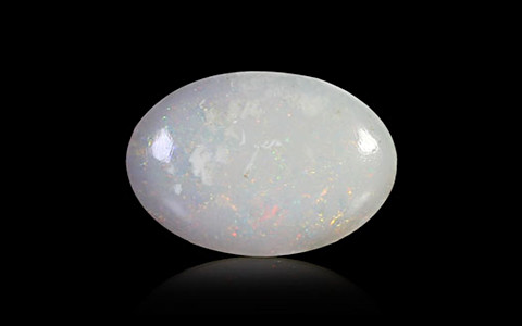 White Opal With Fire - 2.08 carats
