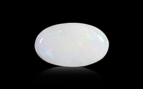 White Opal With Fire - 4.63 carats