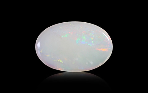 White Opal With Fire - 2.49 carats