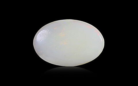 White Opal With Fire - 2.66 carats