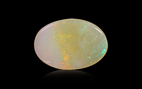 White Opal with Fire - 2.06 carats