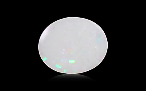 White Opal with Fire - 2.44 carats