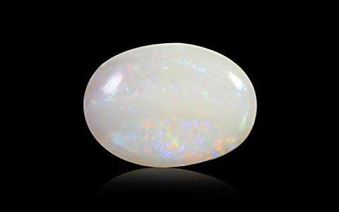 White Opal With Fire - 2.55 carats