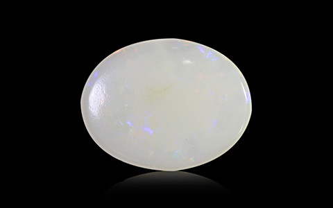 White Opal With Fire - 2.62 carats