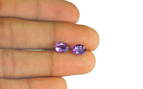 Amethyst Pair - 2.45 carats