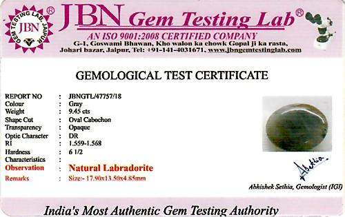 Labradorite - 9.45 carats