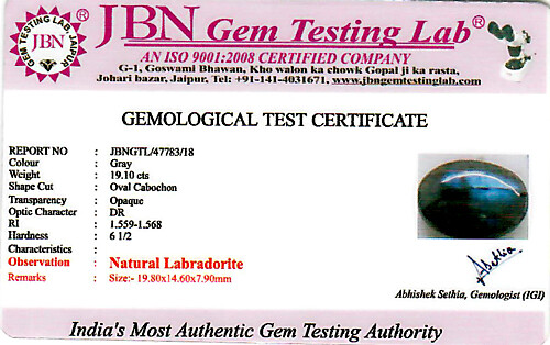 Labradorite - 19.10 carats