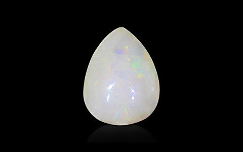 White Opal With Fire - 9.77 carats