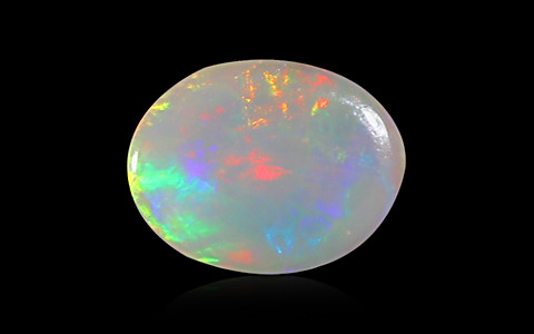 White Opal with Fire - 1.13 carats