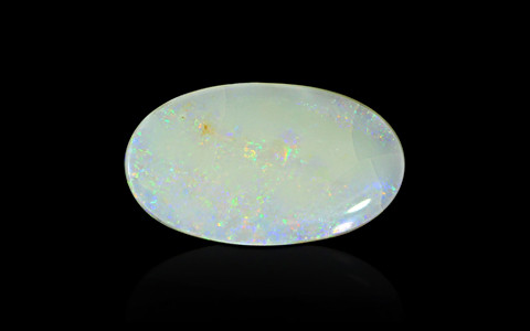 White Opal with Fire - 12.99 carats