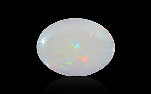 White Opal with Fire - 4.65 carats