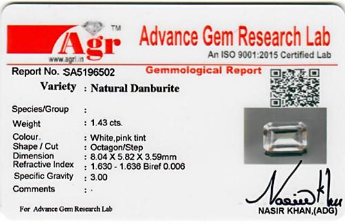 Danburite - 1.43 carats