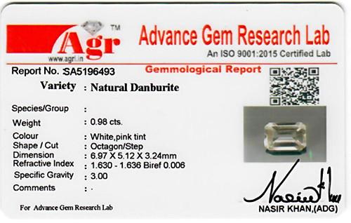 Danburite - 0.98 carats