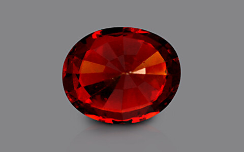 Hessonite - 6.48 carats