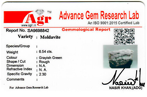 Moldavite - 1.31 grams