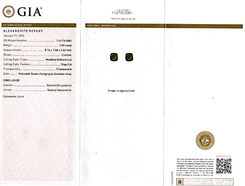 Alexandrite - 2.89 carats