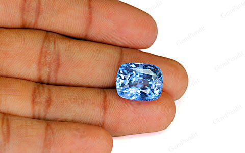 Pastel Blue Sapphire (Heated) - 20.39 carats