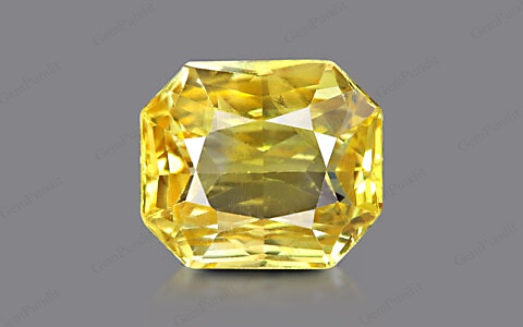 Yellow Sapphire - 7.34 carats