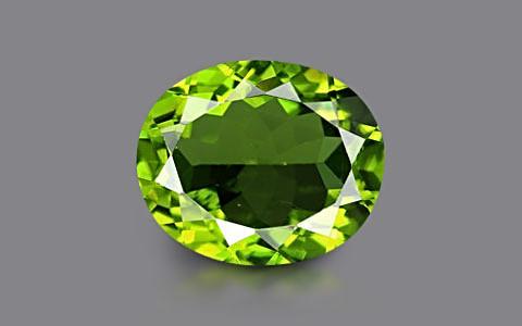 Peridot - 5.49 carats