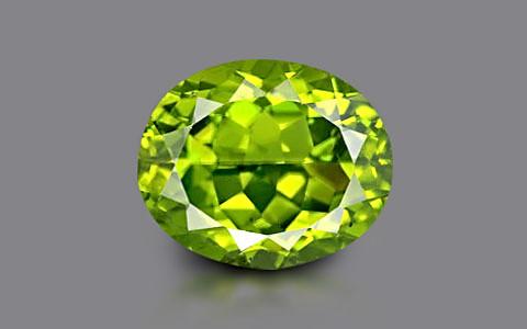 Peridot - 5.79 carats