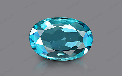 Blue Zircon - 3.93 carats