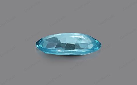 Blue Zircon - 3.76 carats