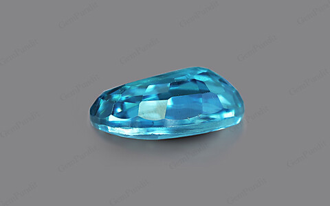 Blue Zircon - 3.98 carats