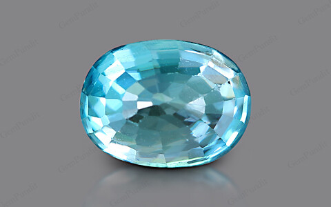 Blue Zircon - 4.21 carats