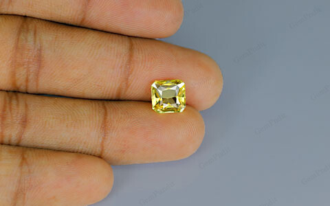Yellow Sapphire - 3.04 carats
